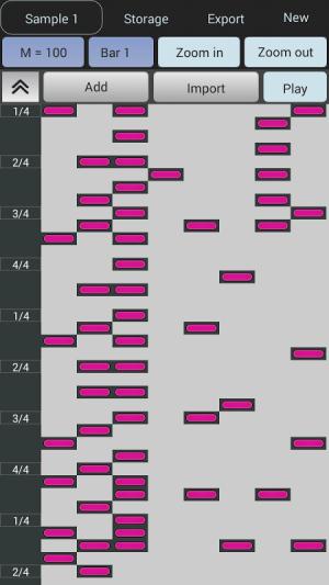Android Beat Maker - Drum Machine Screen 4