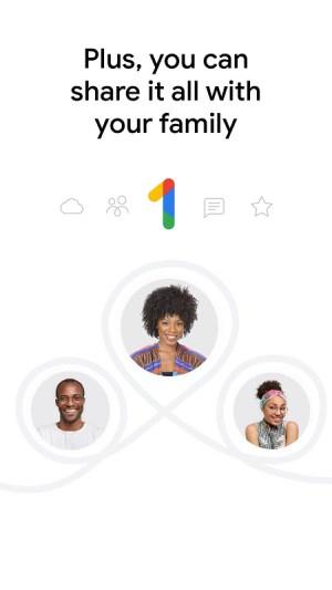 Google One 1.58.292021221 Screen 1