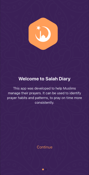 Salah Diary 1.4.0 Screen 4