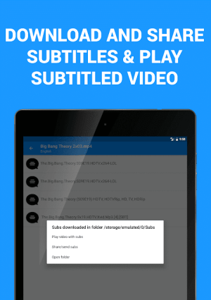 Subtitles for Movies & TV Series 1.3.1 Screen 9