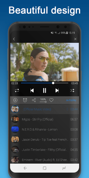 BG Player 4.0.7 Screen 2