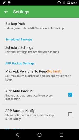 Super Backup & Restore 2.2.70 Screen 4