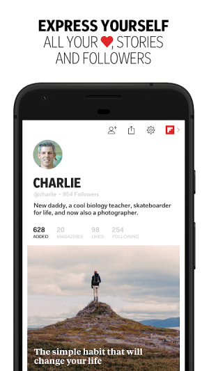 Flipboard: News For Any Topic 4.2.28 Screen 4