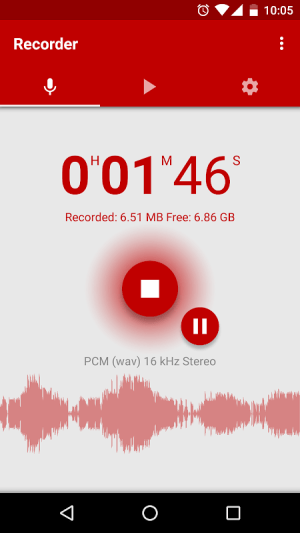 Voice Recorder 2.69 Screen 3
