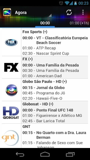 Android TV Guide BR Screen 5