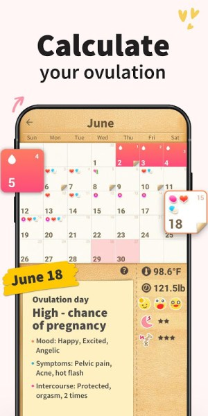 Period Tracker, My Calendar 1.713.217.GP Screen 2