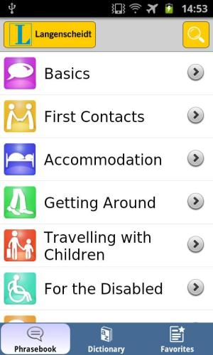 German talk&travel 1.27 Screen 3