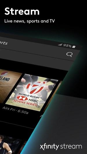 Android Xfinity Stream Screen 8