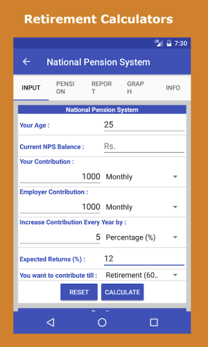 Android Financial Calculator India Screen 5