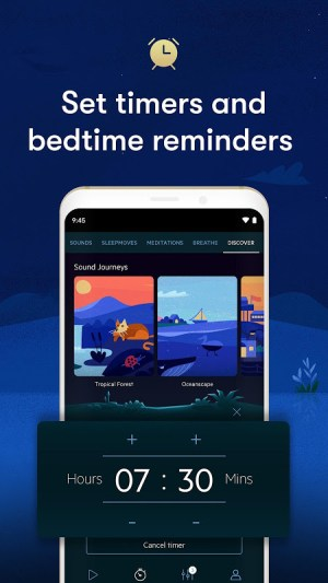 Relax Melodies: Sleep Sounds to Calm & Meditate 7.14.2 Screen 2