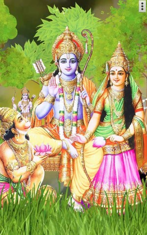 4D Shri Rama (श्री राम दरबार) Live Wallpaper 9.0 Screen 8