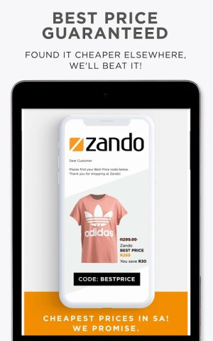 Online Shopping - Fashion - Zando.co.za 2.0 Screen 3