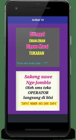 Kata Kata Bahasa Jawa Lucu Cinta Dan Romantis Apks Android Apk