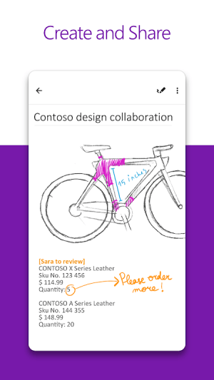Microsoft OneNote: Save Ideas and Organize Notes 16.0.13628.20140 Screen 7