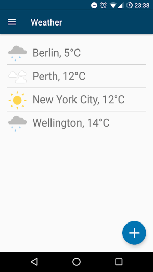 Weather (Privacy Friendly) 2.1.1 Screen 1