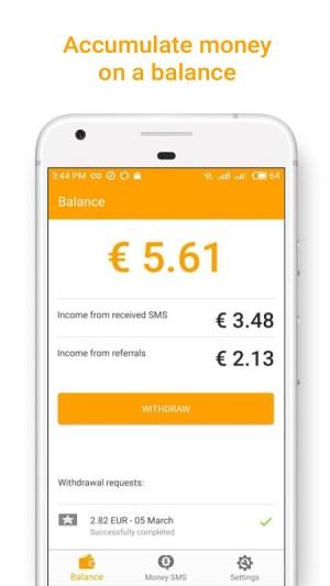 Money SMS   Make Money Online 1.0.3-demo Screen 5
