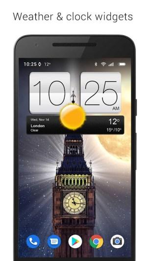 Sense V2 Flip Clock & Weather 5.50.0.1 Screen 11
