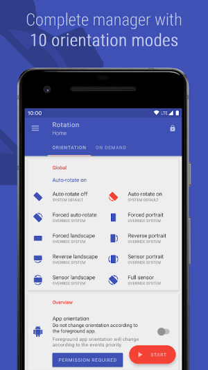 Rotation - Orientation Manager 12.3.1 Screen 7