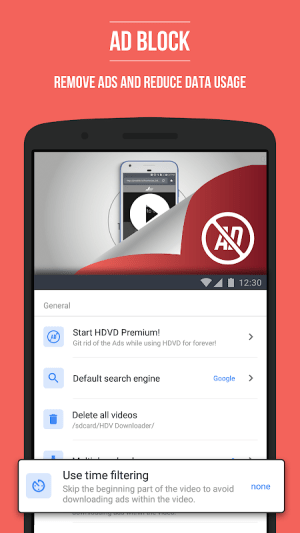Android HD Video Downloader Screen 2