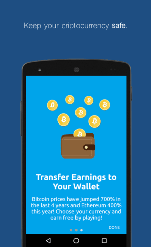 Android StormX: Shop and earn or play and earn free crypto Screen 2