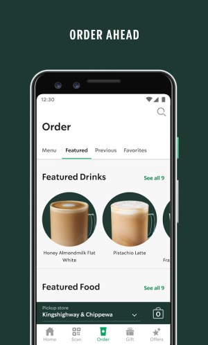 Starbucks 6.5.1 Screen 4