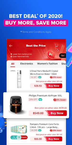 Android Lazada - 11.11 Biggest One-Day Sale Screen 7