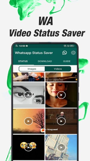 Android Status Saver - WhatsApp Status Downloader Pro Screen 3