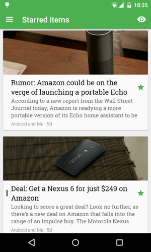 FeedMe (RSS Reader | Podcast) 3.9.4 Screen 3