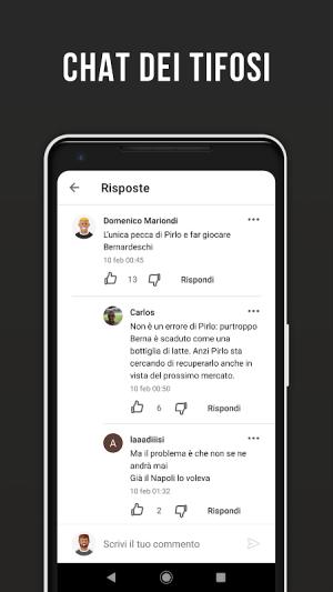 Bianconeri Live – Fan app di calcio non ufficiale 3.2.16 Screen 3