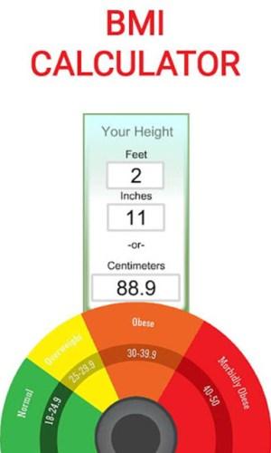 BMI Calculator 2019 2.0.14 Screen 1