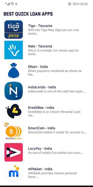 Quick Loan App - Get Instant Loans Now 4.1 Screen 5