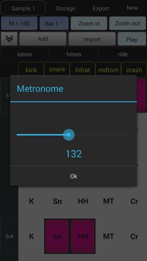 Android Beat Maker - Drum Machine Screen 7