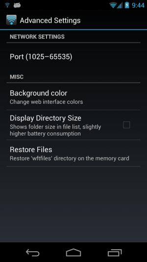 WiFi File Transfer Pro 1.0.9 Screen 8