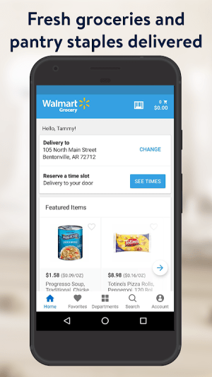 Walmart Grocery 7.0.0 Screen 6