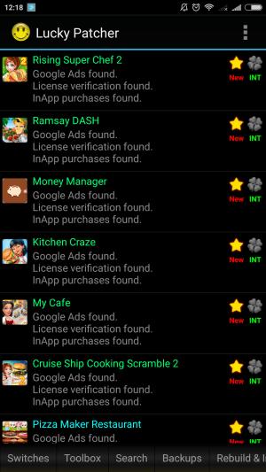 Lucky Patcher 6.7.3 Screen 2