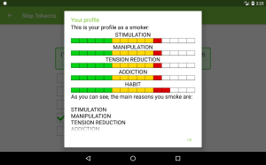 Stop Tobacco Mobile Trainer. Quit Smoking App Free 1.6 Screen 19