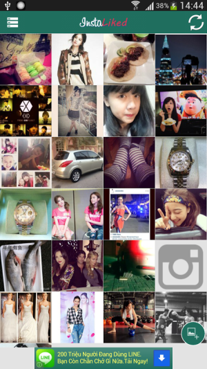Android InstaLiked Saver for Instagram Screen 5