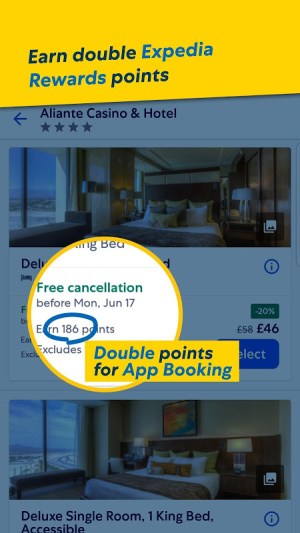 Expedia Hotels, Flights, Car Hires & Activities 20.27.0 Screen 9