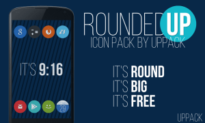 Android Rounded UP - icon pack Screen 3