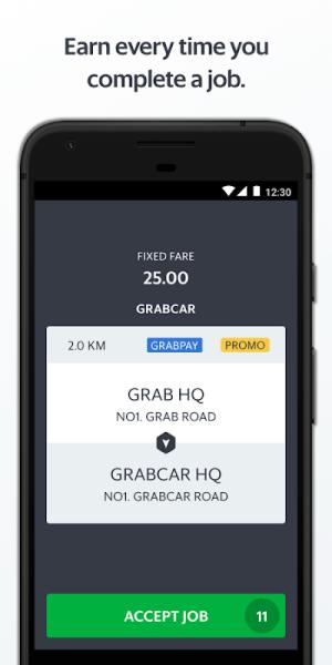 Grab Driver 5.112.0 Screen 1