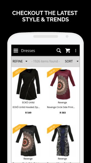 Zando Fashion Online Shopping 1.0.8.1 Screen 2