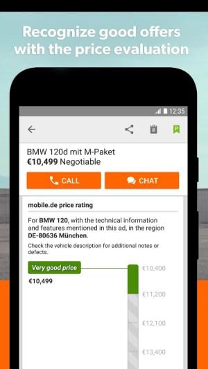mobile.de – Germany's largest car market 7.27.1 Screen 5