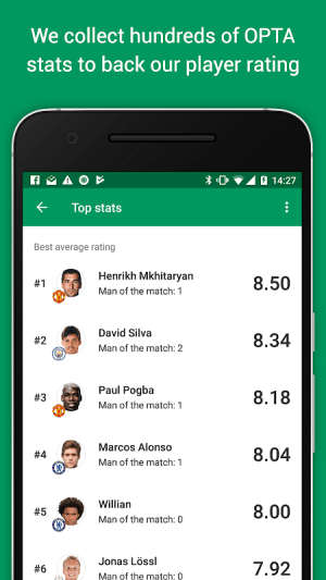FotMob Pro - Live Football Scores 109.0.7275.20191107 Screen 7