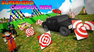 Android Superhero Color Cars (Supercity sim) Screen 2