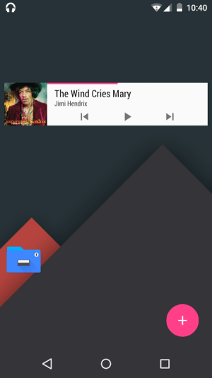Material Music Komponent 1.9 Screen 2