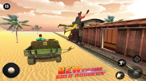 Android Train Robbery shooting game: Gold Robbery Crime Screen 2