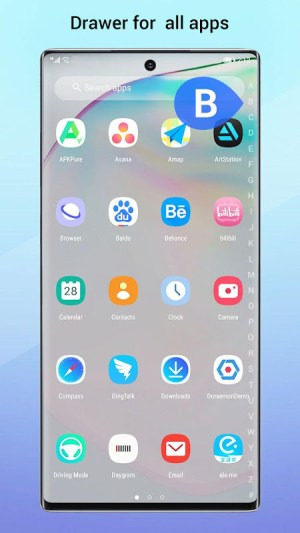 Perfect Note10 Launcher for Galaxy Note,Galaxy S A 2.9 Screen 5