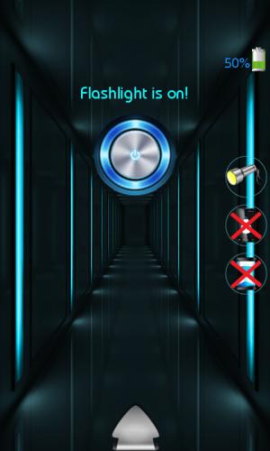Android Pulsar 3 in 1 Flashlight Screen 1