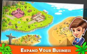 Resort Tycoon - Hotel Simulation Game 9.1c Screen 1