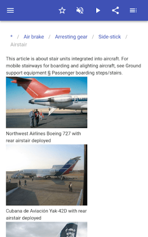 Construction of aircraft 8.5.4 Screen 2